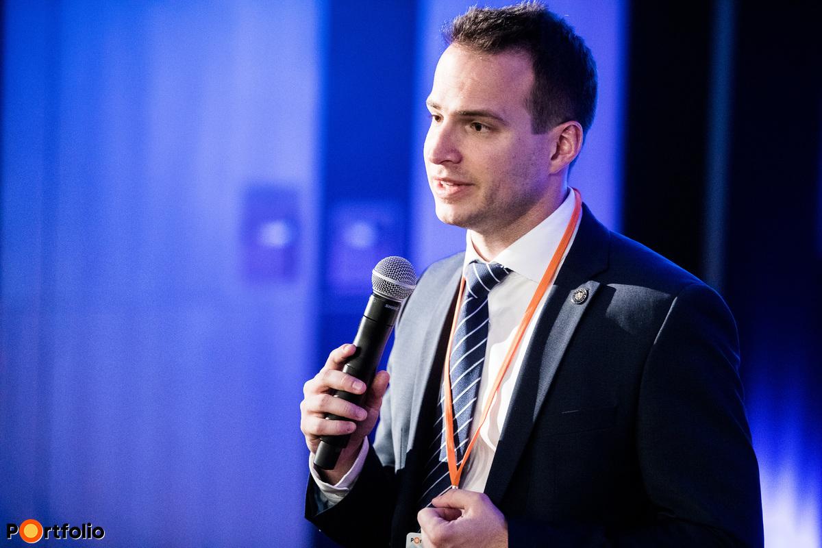 Gabler Gergely (igazgató, Magyar Nemzeti Bank, Prudenciális modellezési és IT felügyeleti igazgatóság): Regulatory sandbox helyzetjelentés