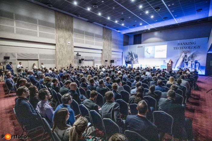 Közel 450 fő részvételével megrendezésre került a Banking Technology 2018 konferencia!