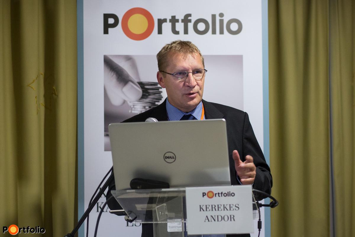 Kerekes Andor (szenior szakmai támogató, MFB - Magyar Fejlesztési Bank): Uniós támogatások elérhetősége és folyamata az MFB Pontokon