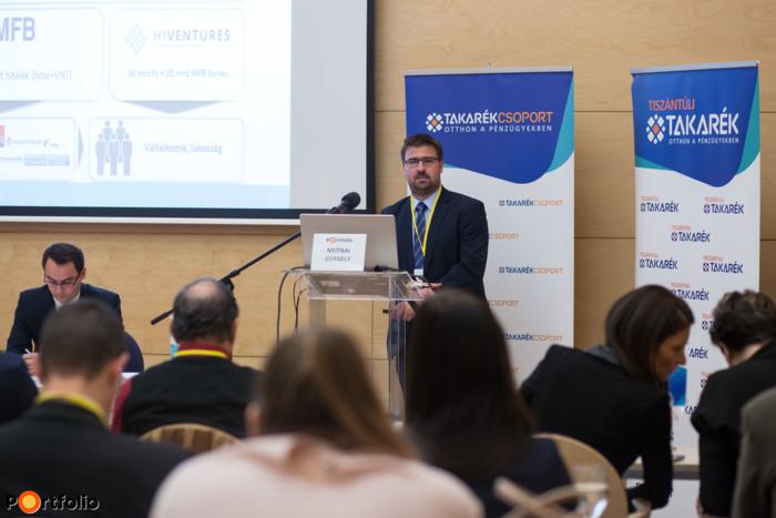 Nyitrai Gergely (osztályvezető, Magyar Fejlesztési Bank): Uniós támogatások elérhetősége és folyamata az MFB Pontokon
