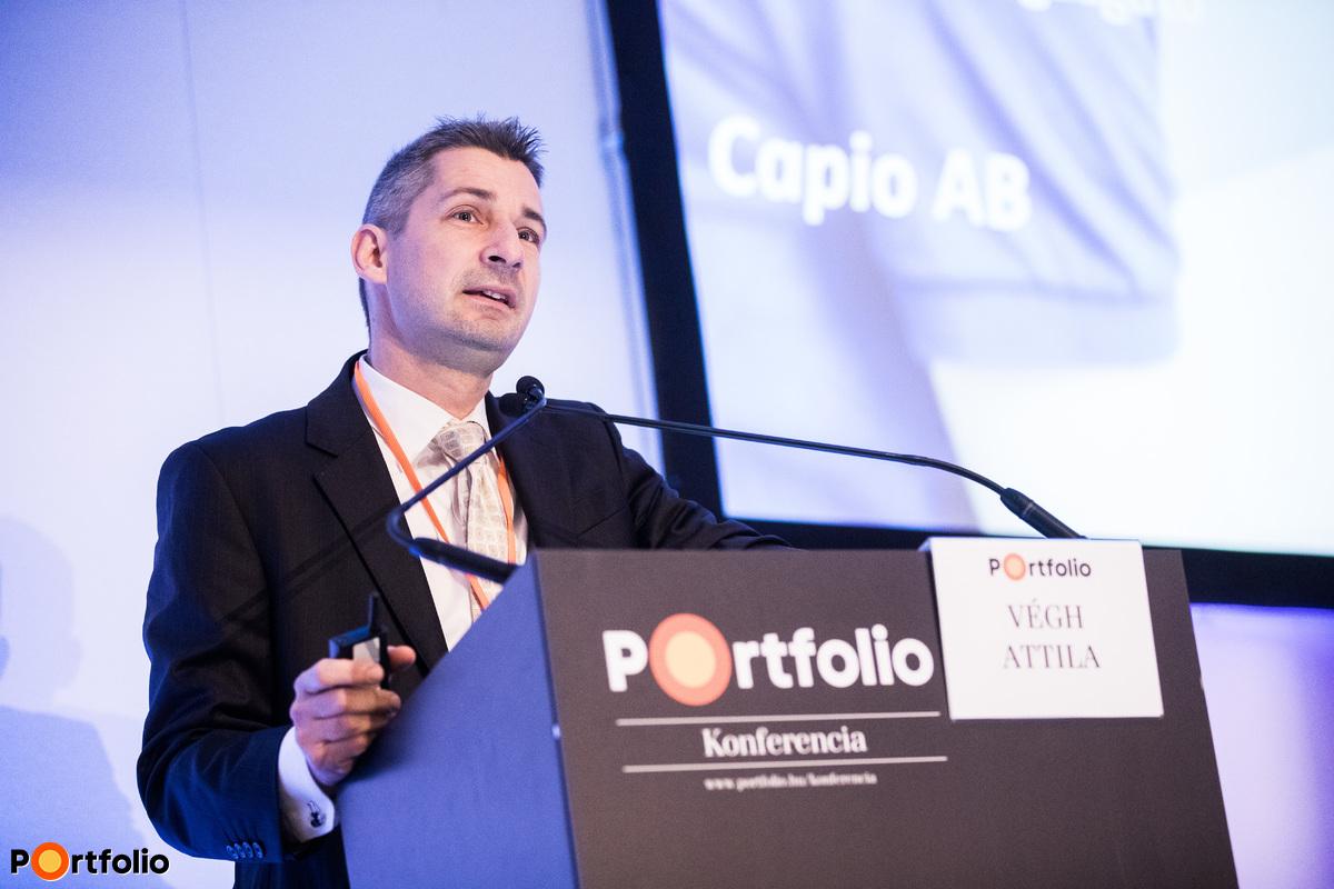 Végh Attila (elnök-vezérigazgató, Capio AB): Hálózatosodás az európai egészségügyi ellátóknál
