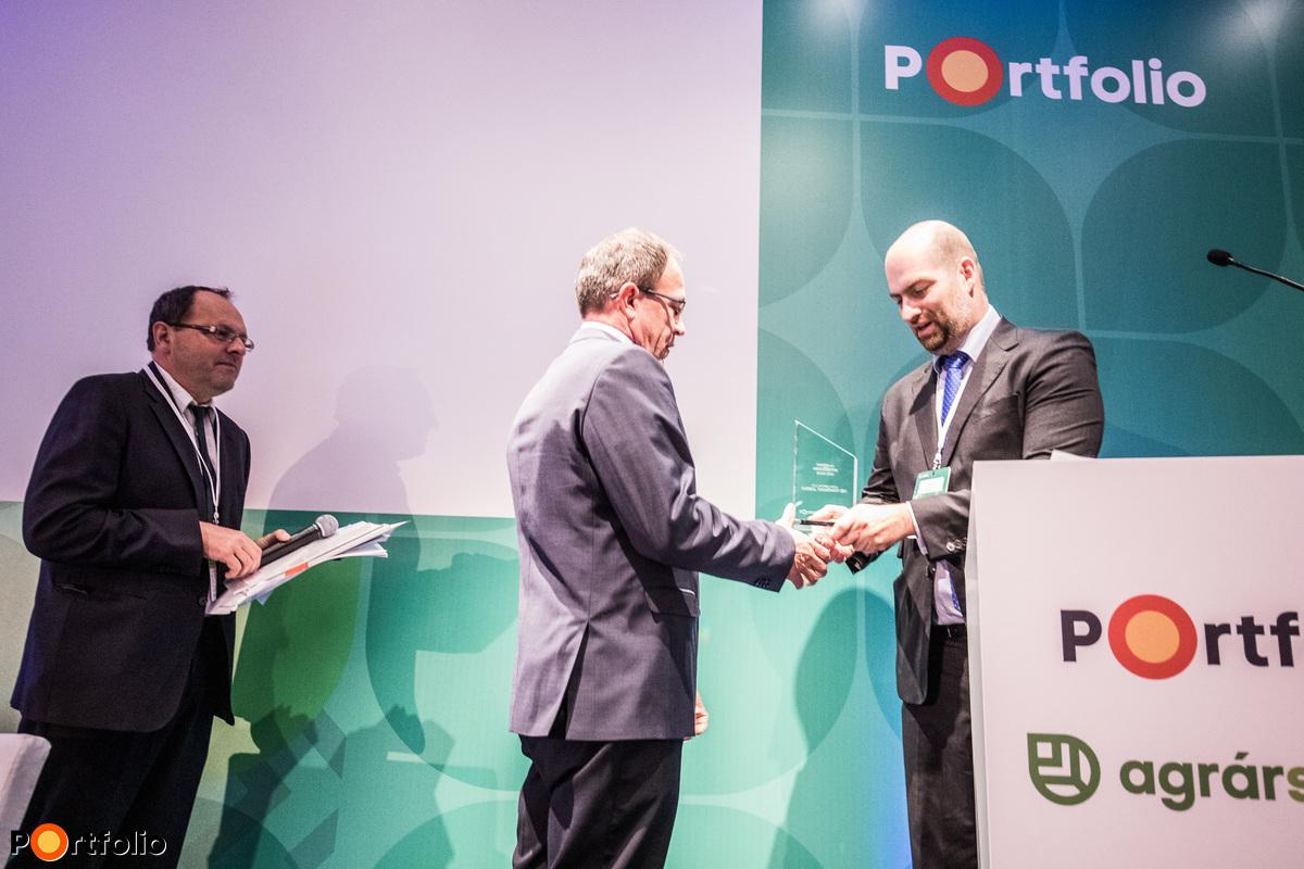 Portfolio Agrárszektor Díjak 2018 díjátadó. Az év agrárberuházása: Cargill Takarmány Zrt.