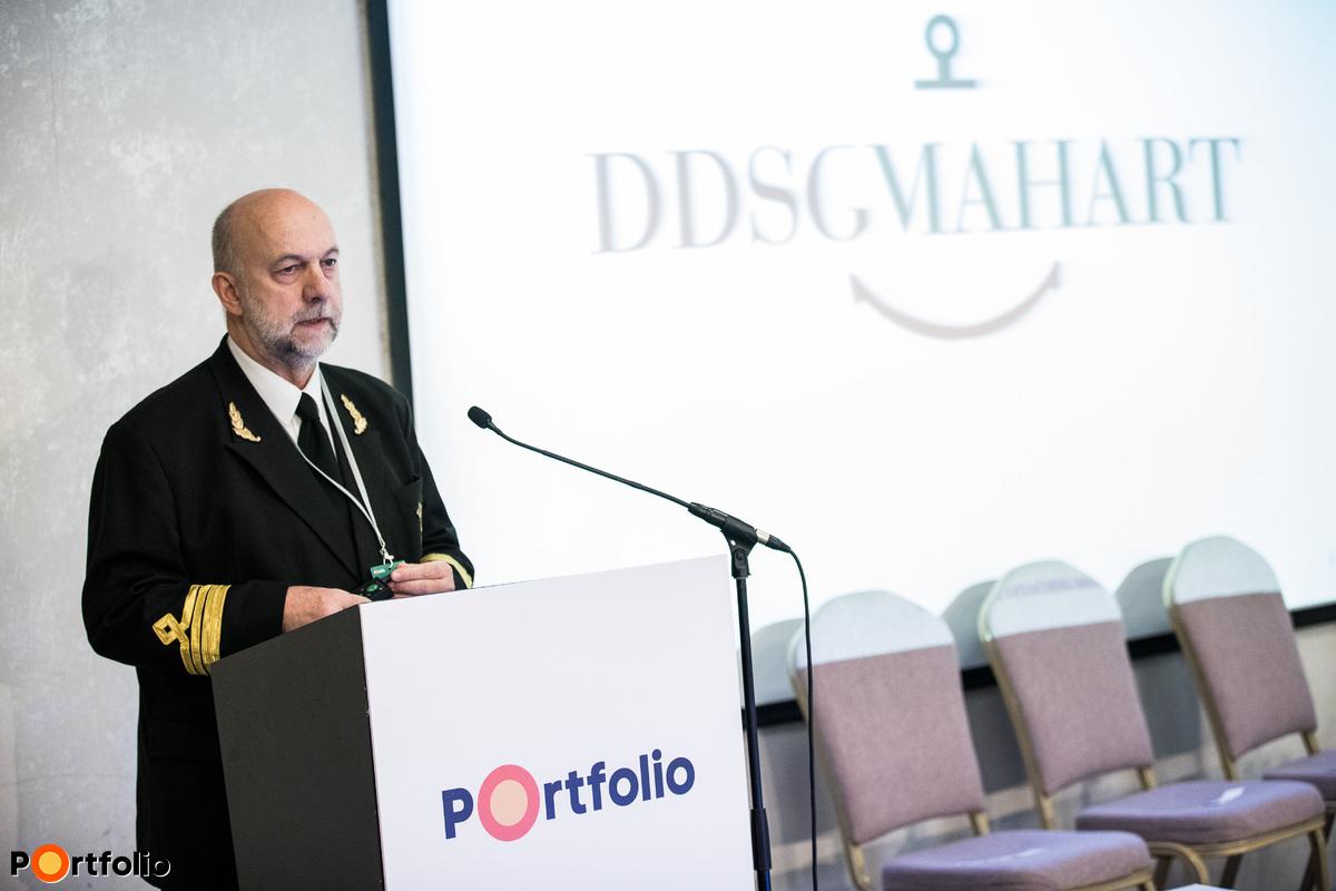 Mátyás Tibor (ügyvezető igazgató, DDSG Mahart Kft.): Hajózás a gabonaszállítás szolgálatában