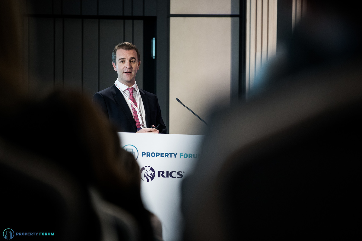 Andrew Peirson MRICS (CBRE) discussed property investment in SEE