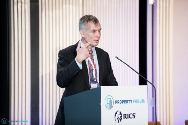 Michael P. Smithing FRICS (RICS) spoke about the future of the real estate profession