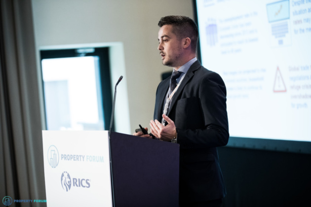 Uros Milosavljevic (KPMG) spoke about the Property Lending Barometer 2018