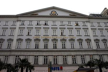 Erste székház Bécsben