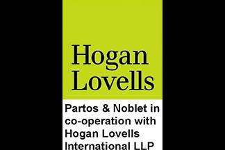 Hogan lovells and Partos & Noblet