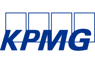 KPMG fehér háttérre